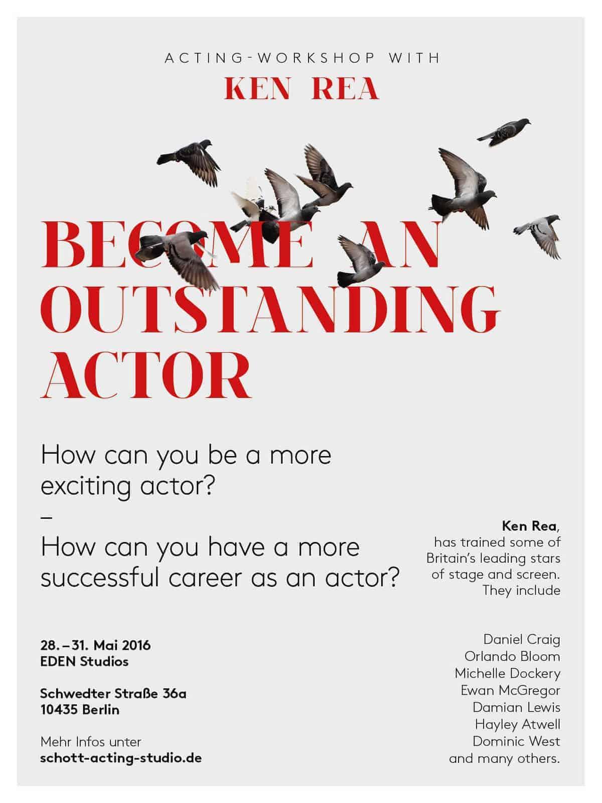 Acting Workshop mit Ken Rea (Guildhall, London)