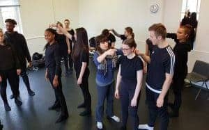 Voice and British RP Accent Workshop for German Actors